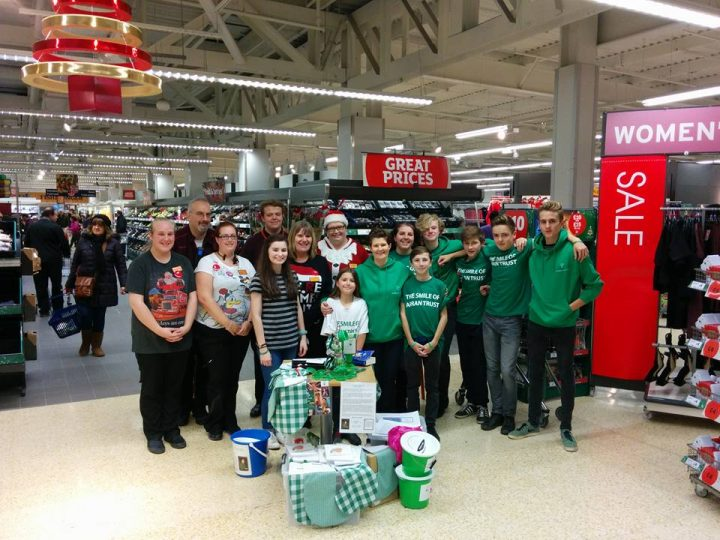 Charity Support from Sainsbury's Haverhill