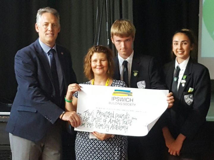 Inspirational fundraising by Ramsey Academy