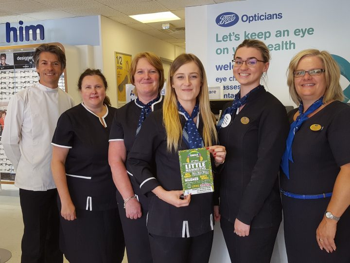 Boots Opticians support the Smile Festival